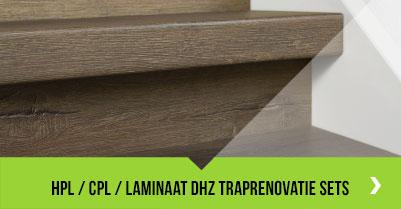 HPL / CPL / Laminaat doe-het-zelf traprenovatie sets