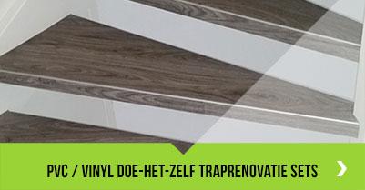 PVC / Vinyl doe-het-zelf traprenovatie sets