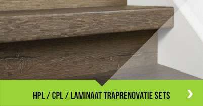 HPL / CPL / Laminaat traprenovatie sets
